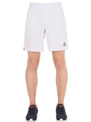 Le Coq Sportif Stirno Nylon Tennis Shorts