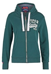 Superdry Tracksuit Top Pine Dark Green