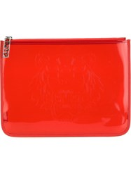Kenzo 'Tiger' Clutch Red