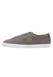 Lacoste Marcel Trainers Dark Grey Red Dark Gray