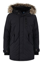 Schott Nyc Winter Coat Navy Dark Blue