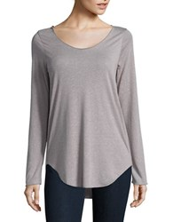 Vero Moda Textured Knit Top Light Grey