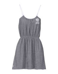 Franklin And Marshall Short Dresses Grey