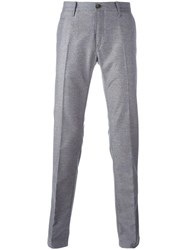 Jacob Cohen Straight Trousers Grey