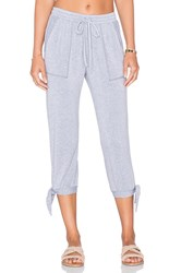 Splendid Teton Cozy French Terry Sweatpant Gray