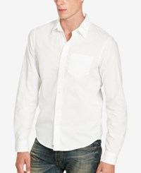 Denim And Supply Ralph Lauren Men's Slim Fit Shirt White