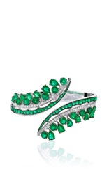 Vanleles X Gemfields Emerald Bangle Green