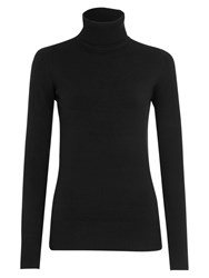 French Connection Babysoft Solid Turtleneck Jumper Black