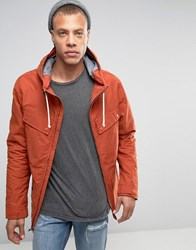 Quiksilver Seashore Jacket Orange