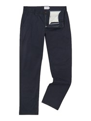 Farah Elm Slim Fit Chino Trouser Navy