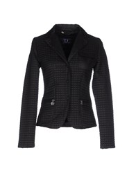 Trussardi Jeans Suits And Jackets Blazers Women Black