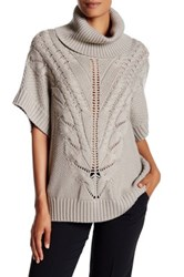 Trina Turk Amarisa Merino Wool Sweater Gray