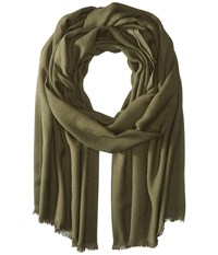 Love Quotes Rayon Eyelash Scarf Tarragon Scarves Olive