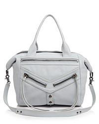 Botkier Trigger Convertible Satchel Steel Grey