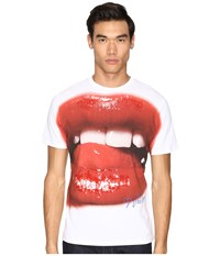 Vivienne Westwood Lips Print T Shirt White