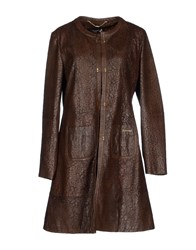 Cristinaeffe Collection Coats And Jackets Full Length Jackets Women Cocoa