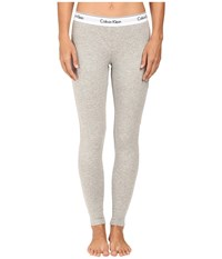 Calvin Klein Underwear Modern Cotton Legging Grey Heather Women's Gray