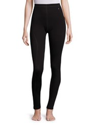 Helly Hansen Merino Wool Blend Base Layer Leggings Black
