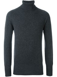 Tomas Maier Classic Roll Neck Jumper Grey