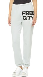 Freecity Feather Weight Sweatpants Gessowhite