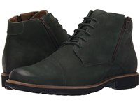 Massimo Matteo 5I Double Zip Chukka Boot Verde Men's Lace Up Boots Green