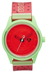 Women's Harajuku Lovers Resin Solar Watch 40Mm Limited Edition