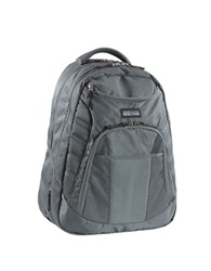 Kenneth Cole Reaction Goliath Double Gusset Expandable 17 Inch Computer Backpack Charcoal