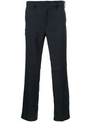 Bedwin And The Heartbreakers Classic Straight Leg Trousers Black