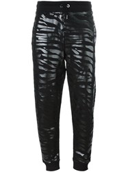 Kenzo 'Tiger Stripes' Track Pants Black