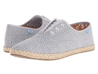 Toms Palmera Slip On Chambray Dot Women's Flat Shoes Navy