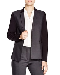 T Tahari Carina Color Block Blazer