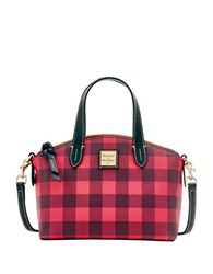 Dooney And Bourke Checkered Leather Crossbody Bag
