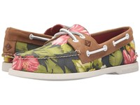 Sperry A O 2 Eye Floral Green Men's Lace Up Casual Shoes