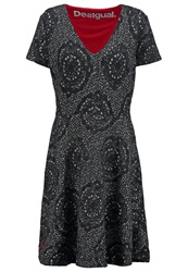 Desigual Bibiana Summer Dress Gris Vigore Claro Grey