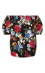Piamita Rosie Off The Shoulder Blouse Floral