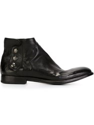 Alberto Fasciani 'Pascal' Ankle Boots Black