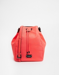 Pauls Boutique Hattie Duffle Bag In Coral Snake Pink