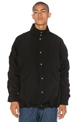 Mr. Completely Cropped Military Parka Black