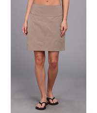 Royal Robbins Embossed Discovery Skort Light Taupe Women's Skort