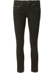 Rag And Bone Rag And Bone 'Tomboy' Corduroy Trousers Green