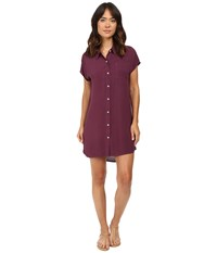 Allen Allen High Low Shirtdress Gwine Women's Dress Brown