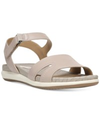 Naturalizer Selma Flat Sandals Women's Shoes Grey