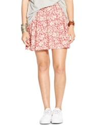 Denim And Supply Ralph Lauren Floral Print A Line Mini Skirt Rennes Floral
