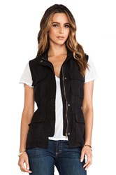 Sanctuary Travel Vest Black