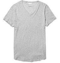 Orlebar Brown Bobby Lightweight Cotton T Shirt Gray
