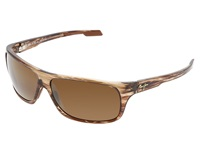 Maui Jim Island Time Striped Rootbeer Hcl Bronze Lens Sport Sunglasses
