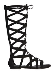 Steve Madden 10Mm Woven Suede Gladiator Sandals