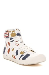 Hunter Original High Top Sneaker White