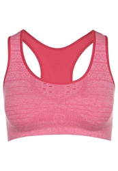 Smartwool Phd Sports Bra Red Pink
