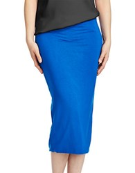 424 Fifth Tube Skirt Olympic Blue